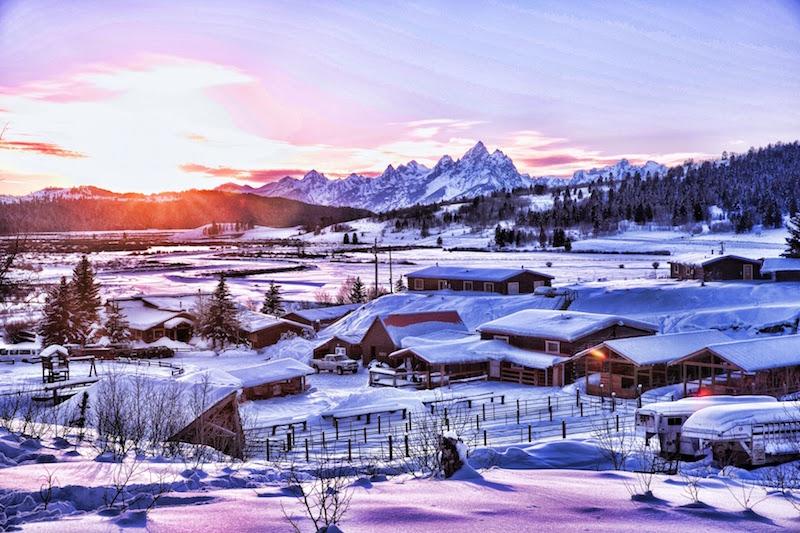 Snowmobile 2 – Ranch in Winter