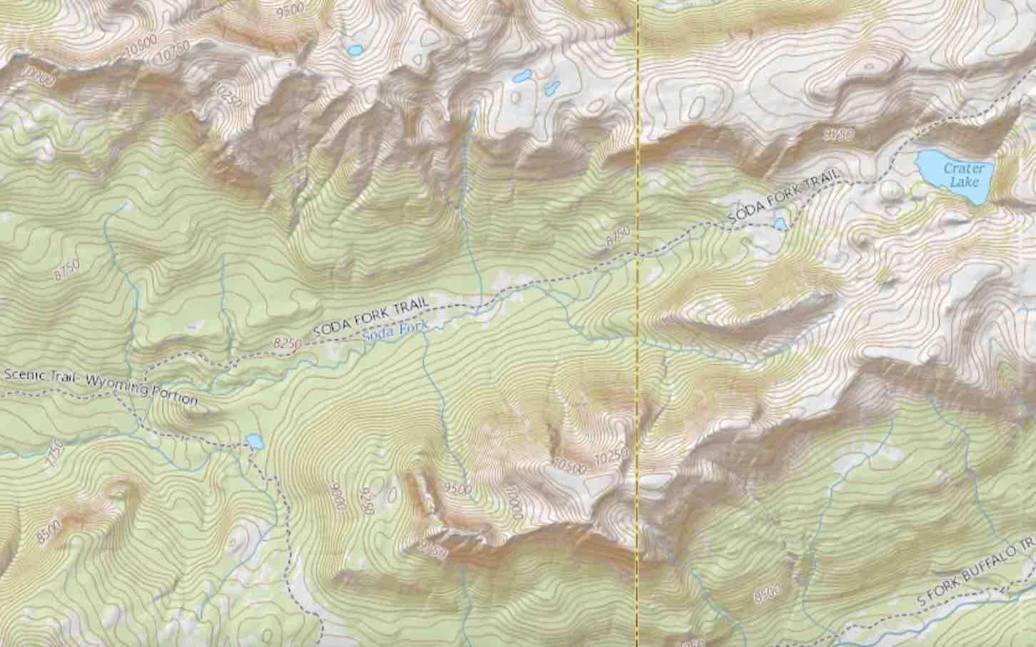 Soda Fork Mountain Hunting Camp