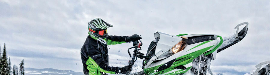 Continental Divide Snowmobiling