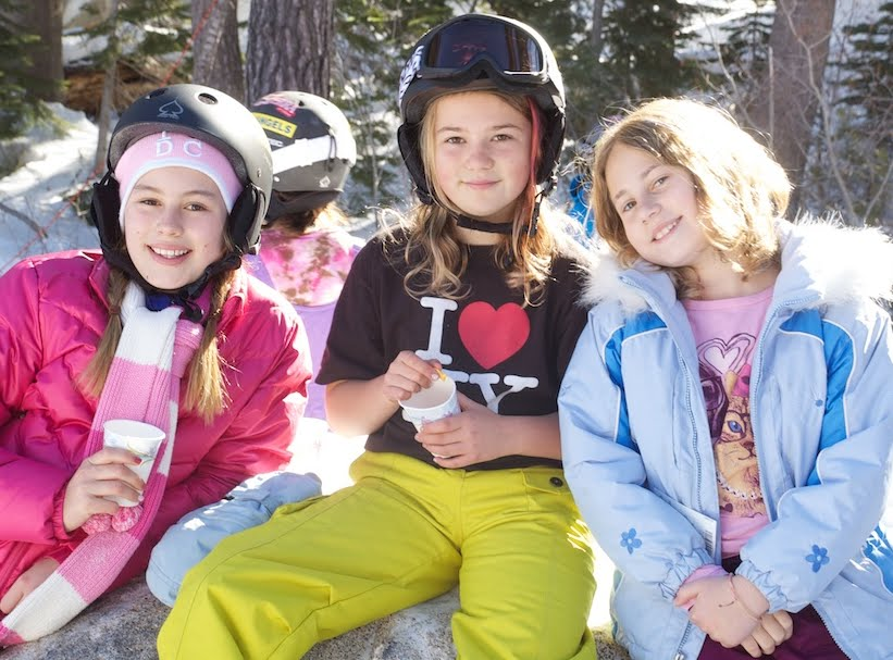 ski camp for girls and boys in lake tahoe at sierra at tahoe