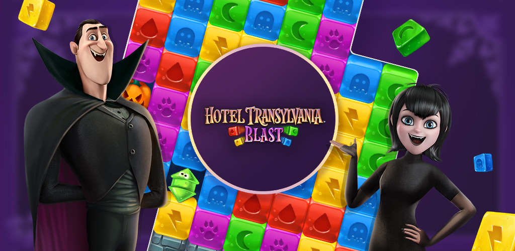 Hotel Transylvania: Blast Casual Puzzle Game Launched Summer 2019!
