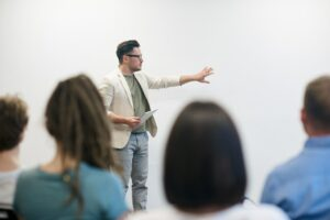 communication training and public speaking classes