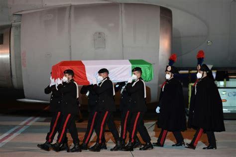 Body Of Italian Ambassador Killed In DR Congo Returns Home
