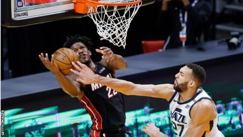 NBA: Jimmy Butler stars as Miami Heat beat Utah Jazz
