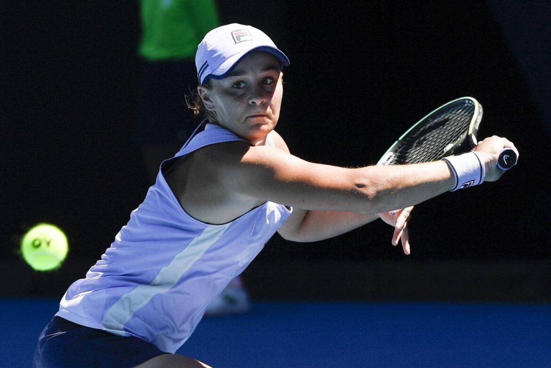 No. 1 Ash Barty loses at Adelaide International; Coco Gauff into quarterfinals