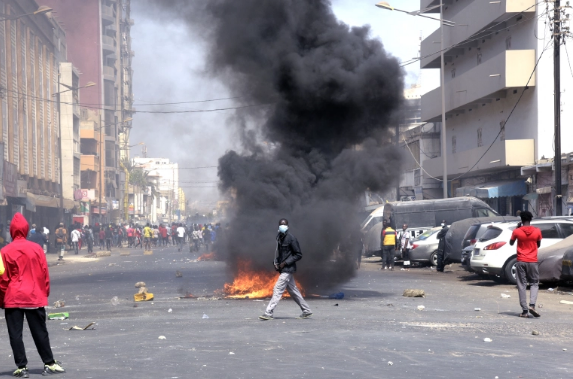 Senegal protests escalate as opposition leader appears in court
