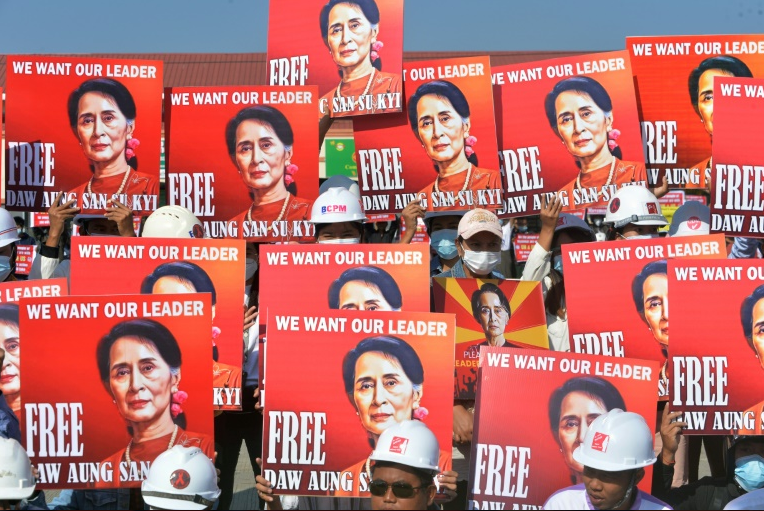 Myanmar's Suu Kyi Hit With Two New Criminal Charges