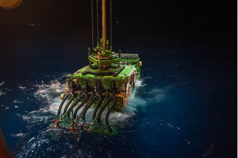 Accident leaves deep sea mining machine stranded