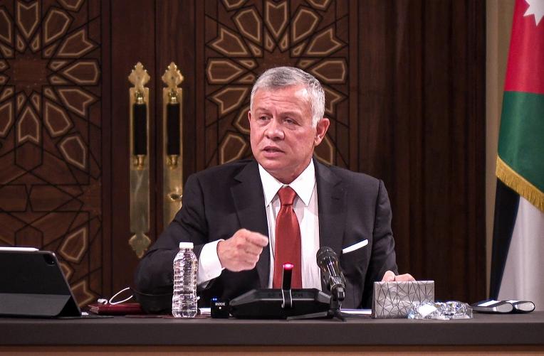 Jordan's King Abdullah says 'sedition' quashed