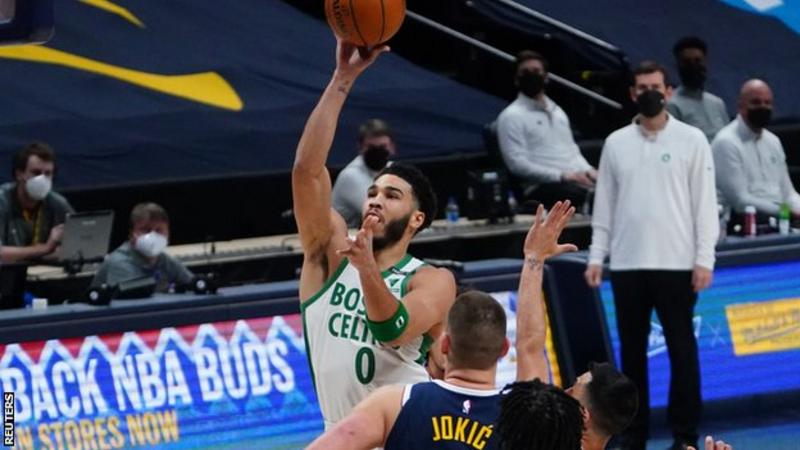 Boston Celtics end Denver Nuggets' eight-game winning run