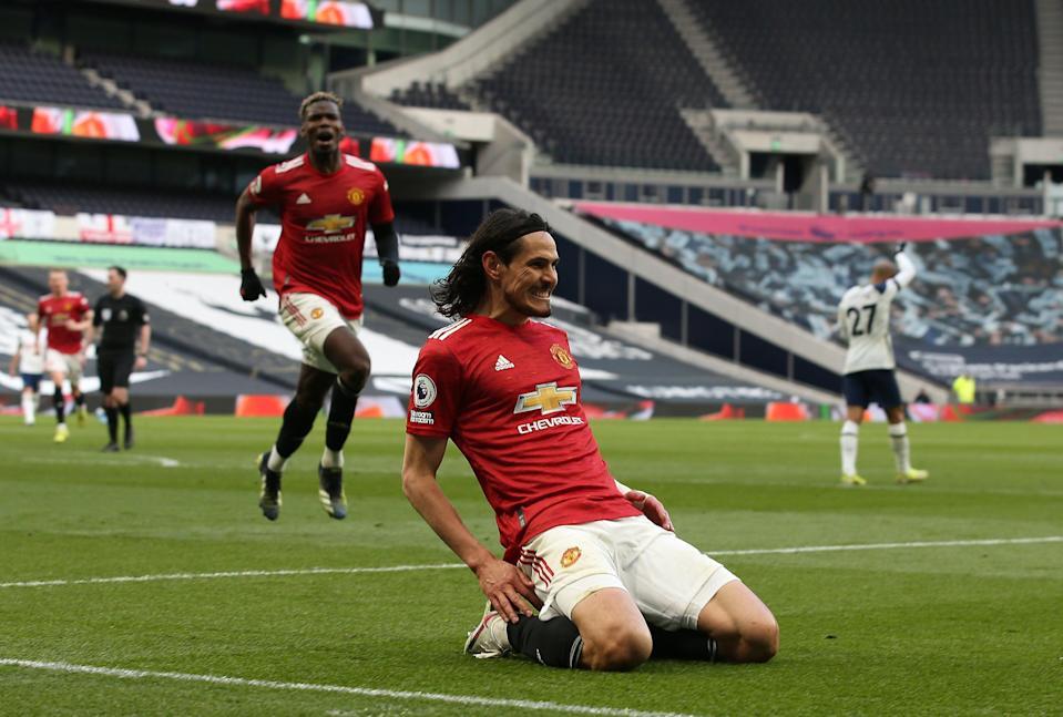 Edinson Cavani and Mason Greenwood seal Manchester United comeback win at Tottenham Hotspur
