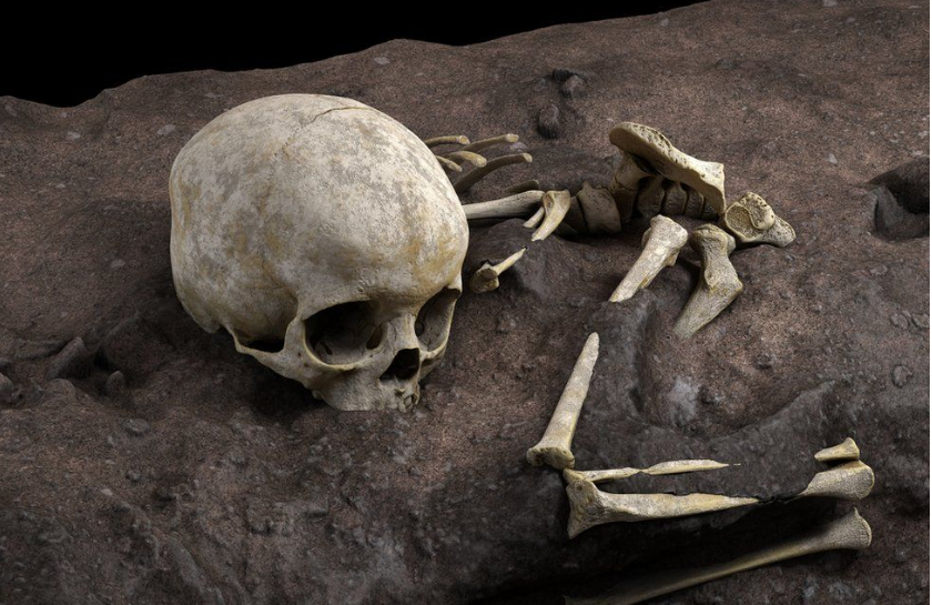 Ancient child grave was Africa's earliest funeral