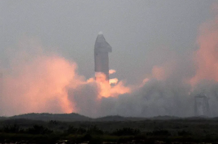 'The Starship has landed': SpaceX nails reusable craft touchdown