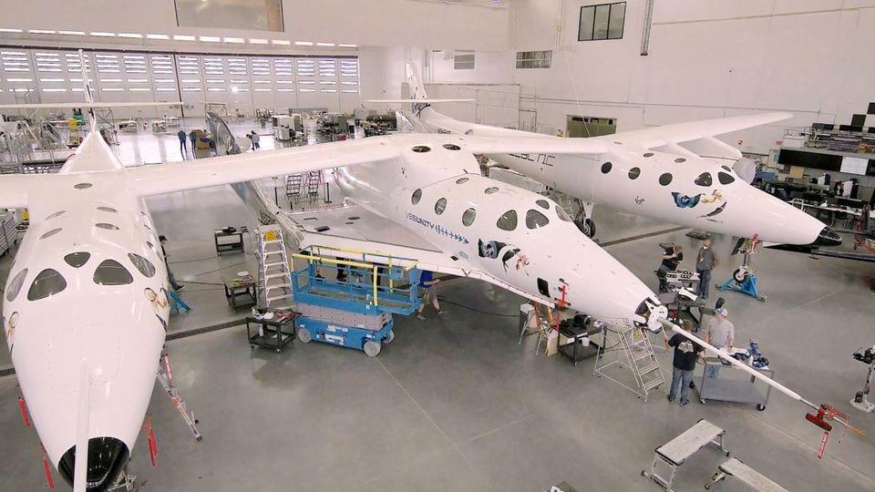 Virgin Galactic's Branson ready for space launch aboard rocket plane