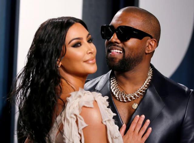 Kim Kardashian joins Kanye West for mass unveiling of album 'Donda'