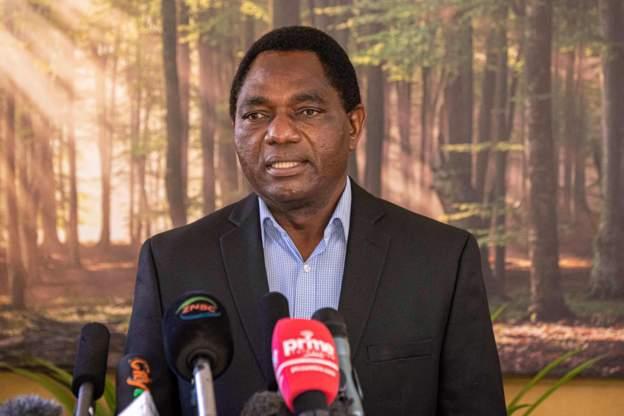 Zambian president hailed for his 'lean' travel team