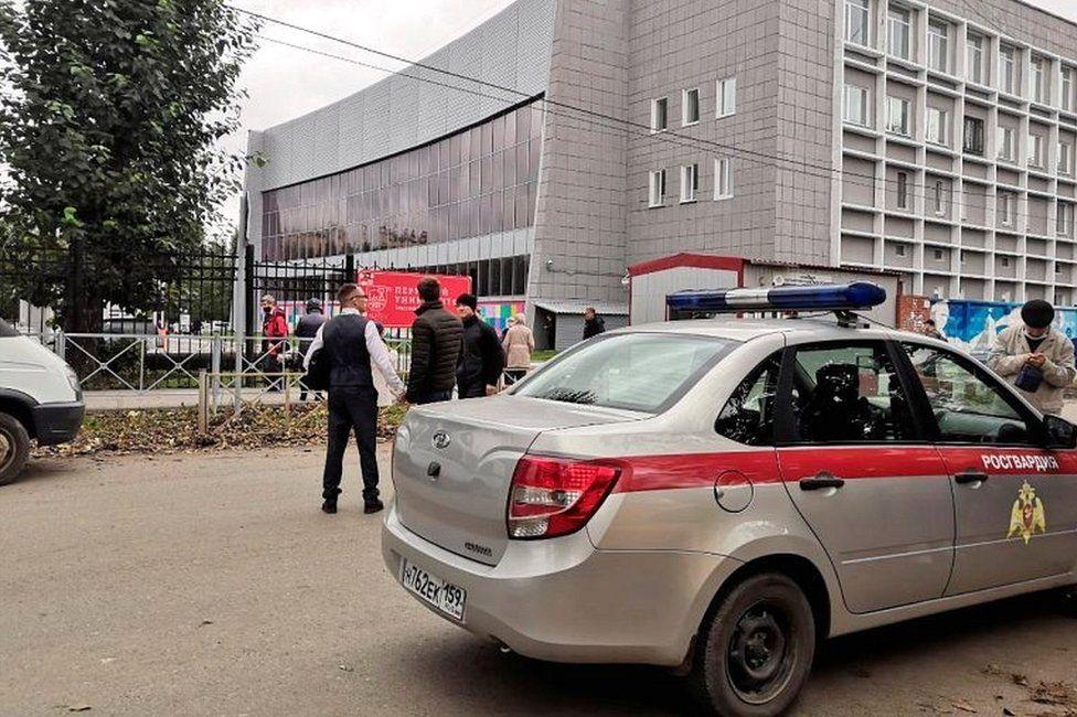 Gunman kills several at Perm University