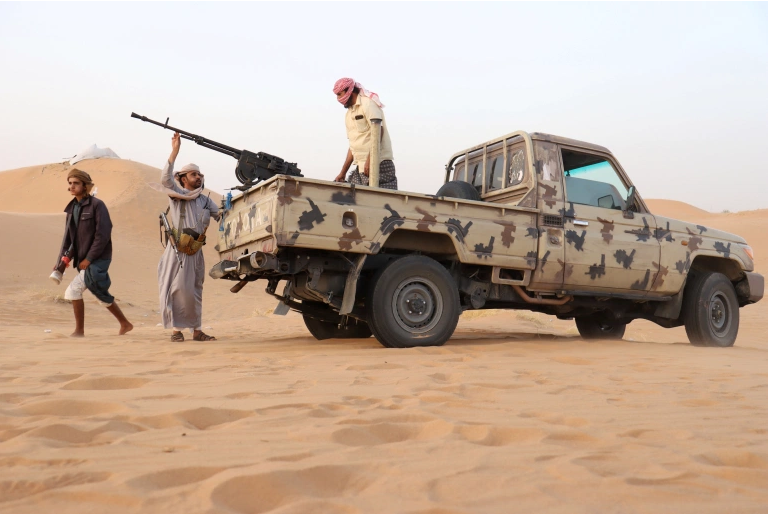 Yemeni government forces again on the backfoot