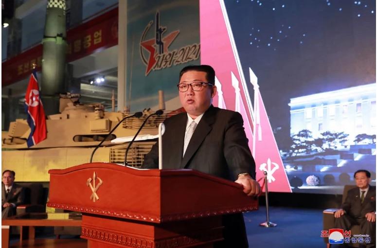 N Korea's Kim says US, S Korea threaten peace with arms buildup