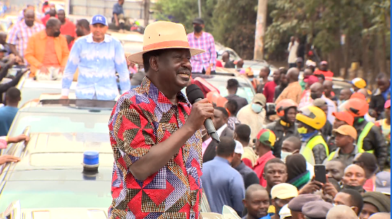 Raila's Charm Offensive In The Capital