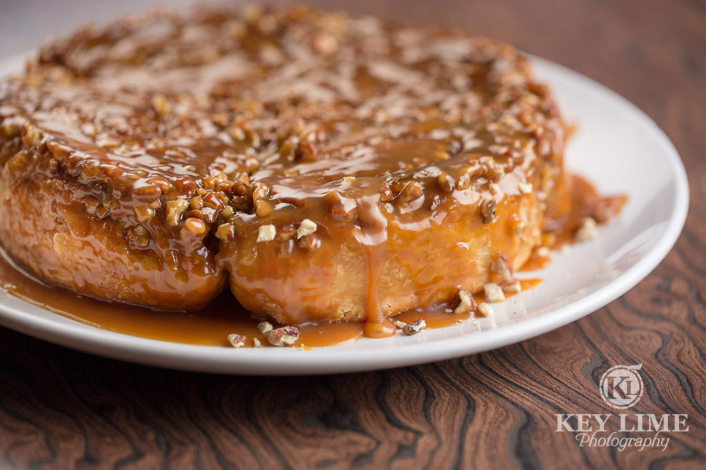 Food Photography Photo of ROCK & CINNAMON ROLL at Mr Lucky's at the Hard Rock Hotel and Casino Las Vegas