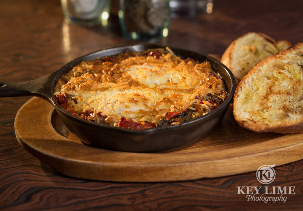 Food Photography Photo of WOOD BAKED EGGS at Mr Lucky's at the Hard Rock Hotel and Casino Las Vegas