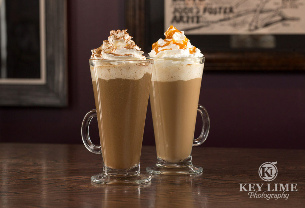 Food Photography Photo of Specialty Coffee at Mr Lucky's at the Hard Rock Hotel and Casino Las Vegas