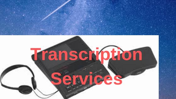 What is Audio Transcription Services?