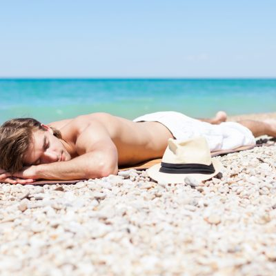grounding on the beach - negative ions - 8hz frequency