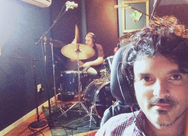Brian tracking drums