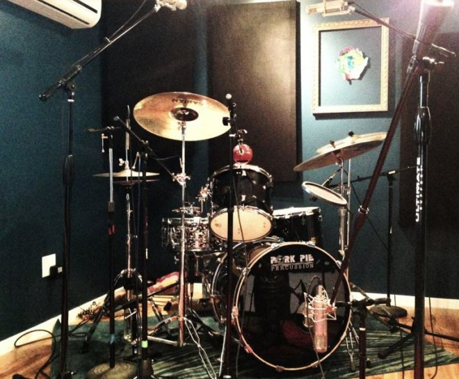 Drums have been mic'd