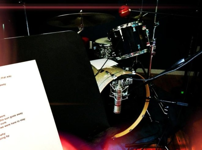 Tracking drums for Song #2