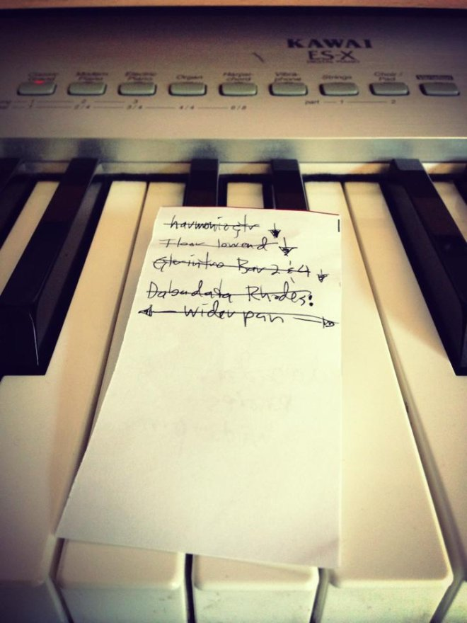 Mix notes