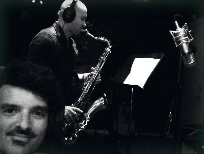 Richard Conti on Saxophone