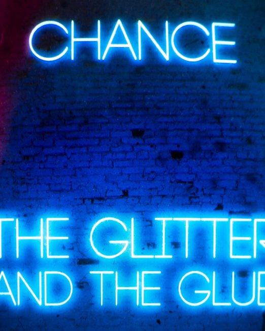 Chance Album Art: The Glitter and the Glue