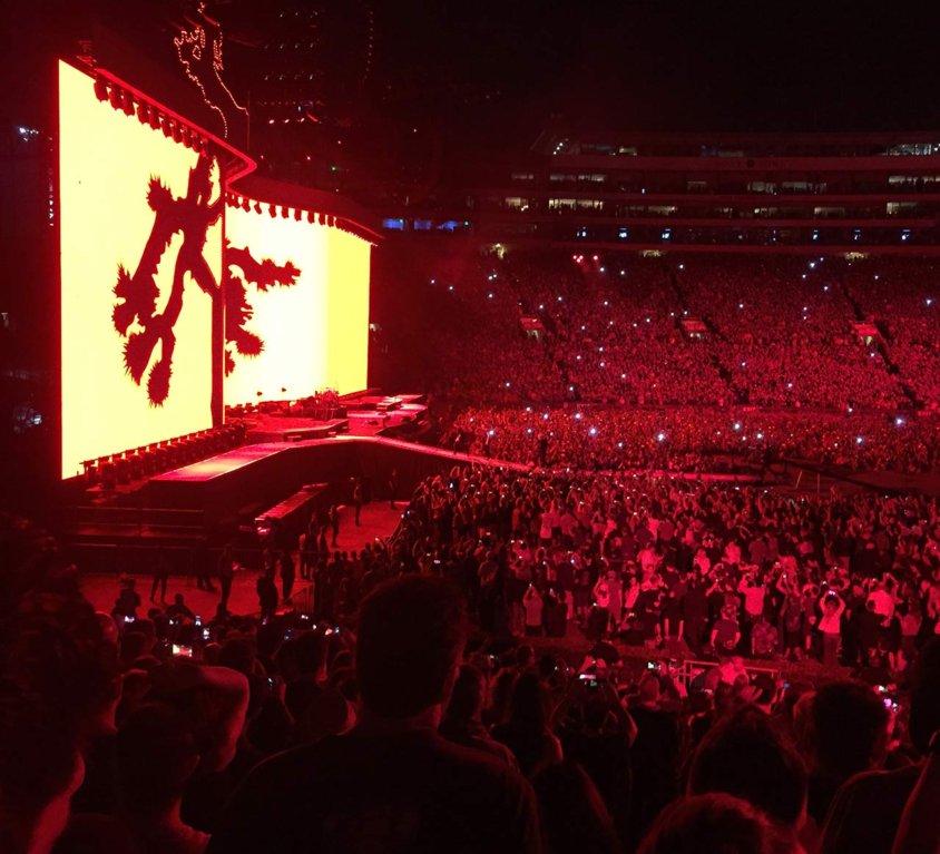 Blog: Recap of U2's Joshua Tree Show @ Rose Bowl