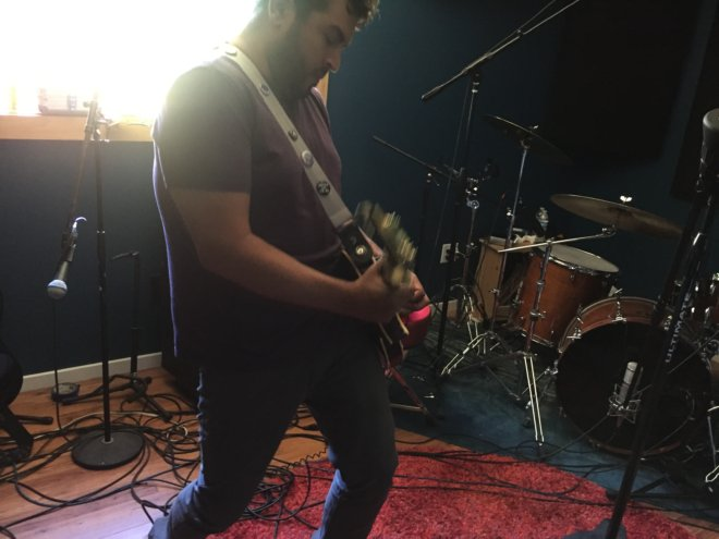 Mike Recording solo to Glory