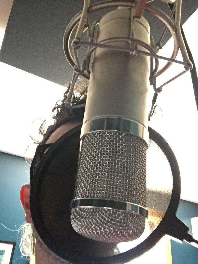 Recording vocals