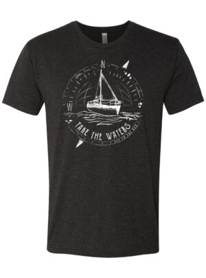 """Off To The Sea"" Mens T-Shirt"