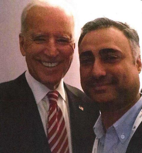 Imaad Zuberi And Joe Biden