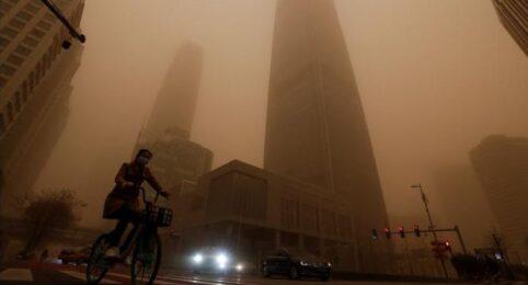 Another Severe Sandstorm Devastates Beijing