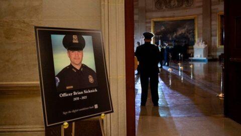 Brian Sicknick Funeral