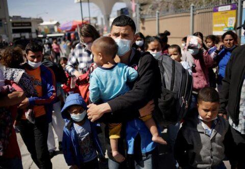 Migrants At Southern Border