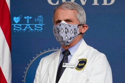 Dr. Fauci Wearing Face Mask