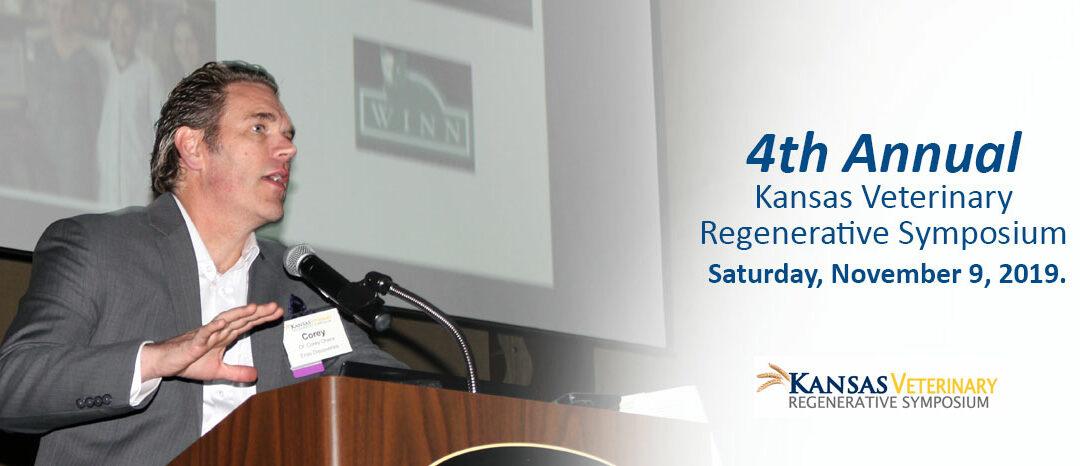 4th Annual Kansas Veterinary Regenerative Medicine Symposium
