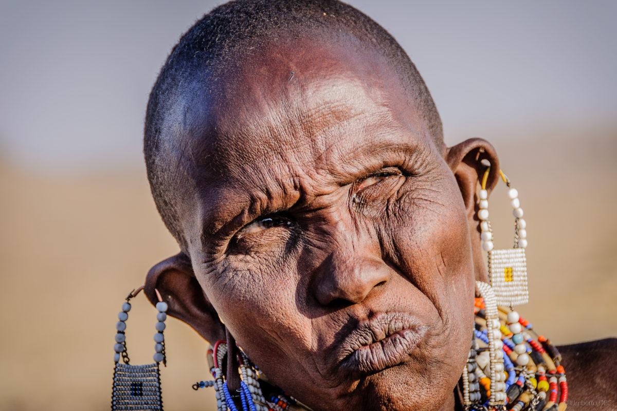 Masai Lady near Natron Lake (Tanzania)