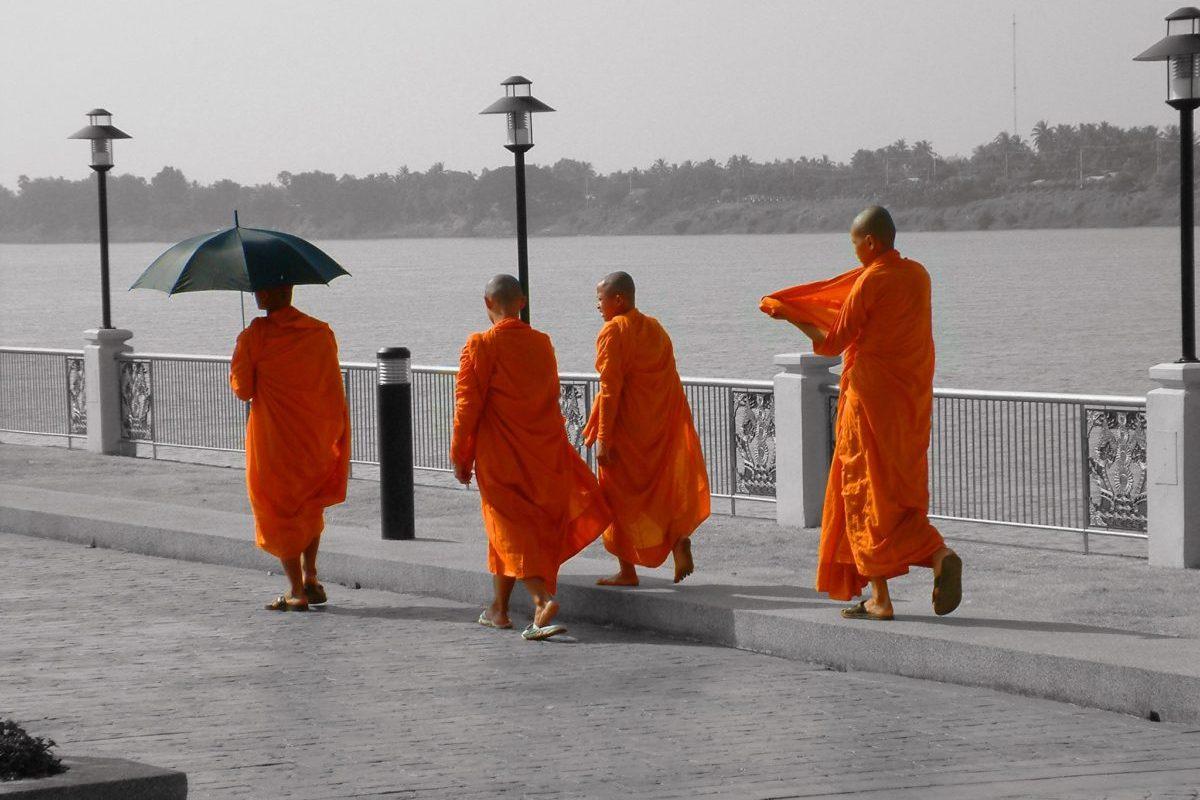 Tailândia _ Monges