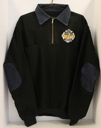SOP (BLACK) Game Work Shirt with Denim (OCFA Employees Only)