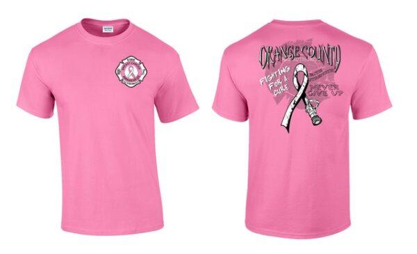 Breast Cancer Awareness Shirt Men's Cut