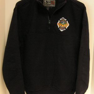 SOP  5.11 1/4 Zip Job Shirt  (BLACK) (OCFA Employees Only)